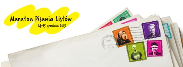 Maraton Pisania Listów 2013